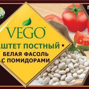 Паштет Белая фасоль с помидорами ВЕГО