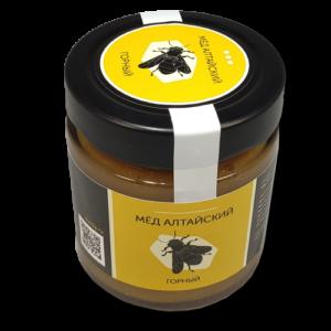 Мёд горный алтайский 250 гр.